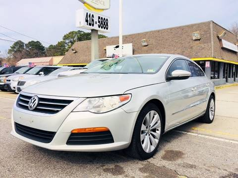 2011 Volkswagen CC for sale at Auto Space LLC in Norfolk VA