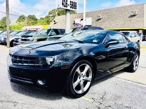 2011 Chevrolet Camaro for sale at Auto Space LLC in Norfolk VA