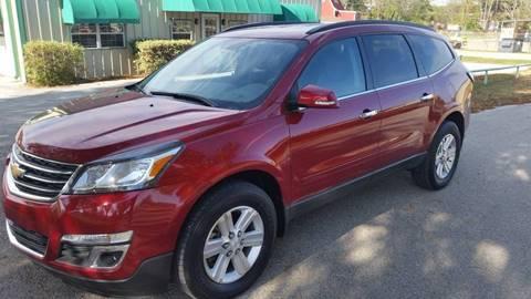 2013 Chevrolet Traverse for sale at Haigler Motors Inc in Tyler TX