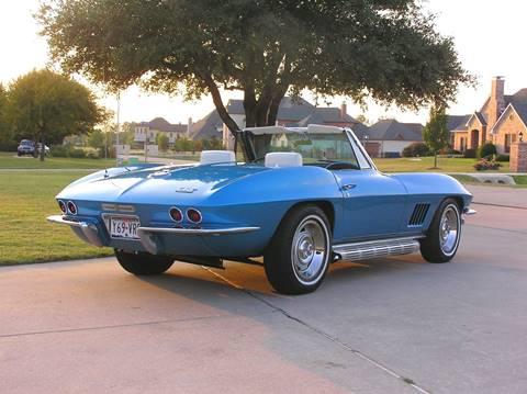 1967 Chevrolet Corvette for sale at Haigler Motors Inc in Tyler TX