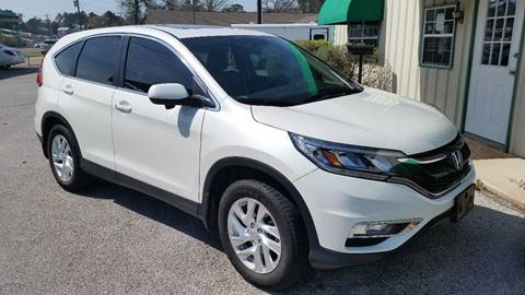 2015 Honda CR-V for sale at Haigler Motors Inc in Tyler TX