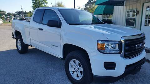 2016 GMC Canyon for sale at Haigler Motors Inc in Tyler TX
