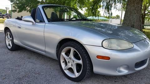 2003 Mazda MX-5 Miata for sale at Haigler Motors Inc in Tyler TX
