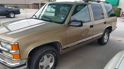 1999 Chevrolet Tahoe for sale at Haigler Motors Inc in Tyler TX