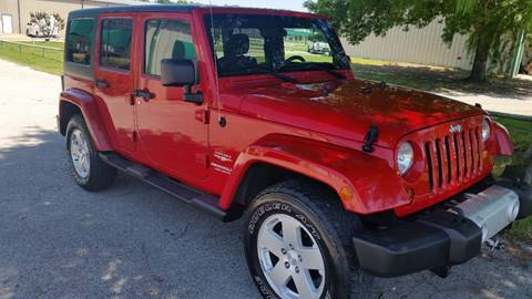 2011 Jeep Wrangler Unlimited for sale at Haigler Motors Inc in Tyler TX