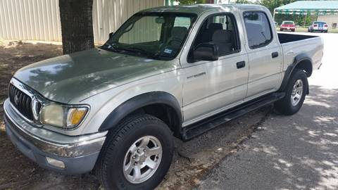 2001 Toyota Tacoma for sale at Haigler Motors Inc in Tyler TX