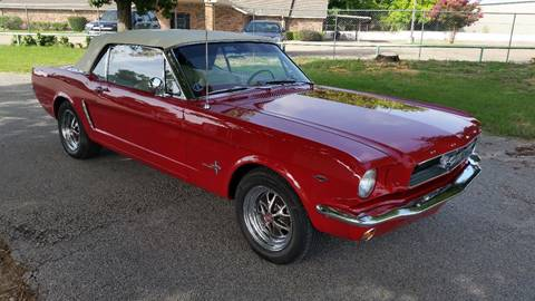 1965 Ford Mustang for sale at Haigler Motors Inc in Tyler TX