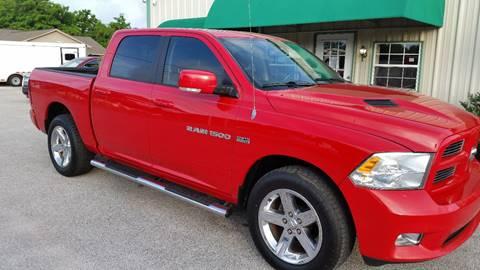 2012 RAM Ram Pickup 1500 for sale at Haigler Motors Inc in Tyler TX