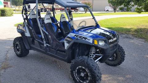 2010 Polaris side by side RZR4  for sale at Haigler Motors Inc in Tyler TX