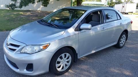 2011 Toyota Corolla for sale at Haigler Motors Inc in Tyler TX