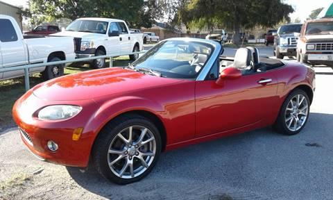 2006 Mazda MX-5 Miata for sale at Haigler Motors Inc in Tyler TX