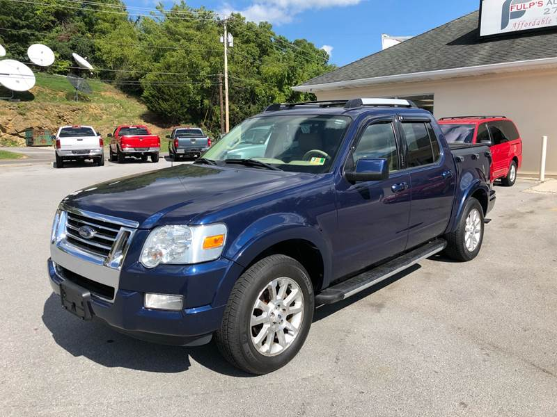 2007 Ford Explorer Sport Trac Limited In Bluefield Va Fulps Auto