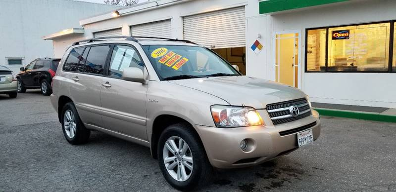 2006 toyota highlander hybrid limited in modesto ca stark auto sales. Black Bedroom Furniture Sets. Home Design Ideas