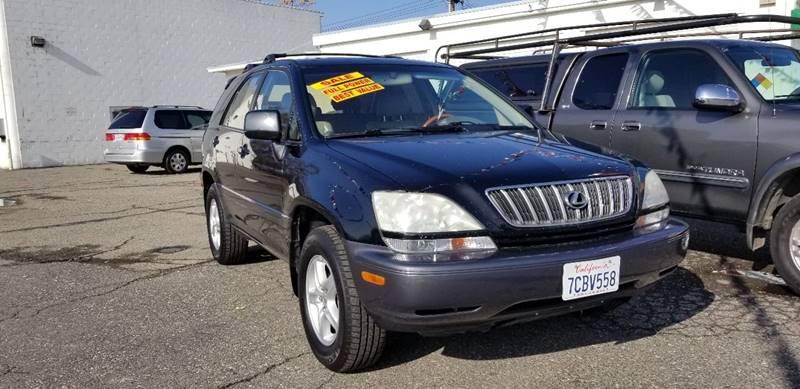 2001 Lexus RX 300 For Sale At Stark Auto Sales In Modesto CA