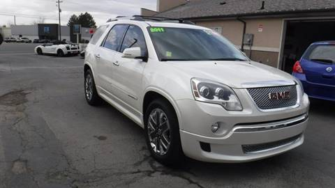 2011 GMC Acadia for sale at PLANET AUTO SALES in Lindon UT