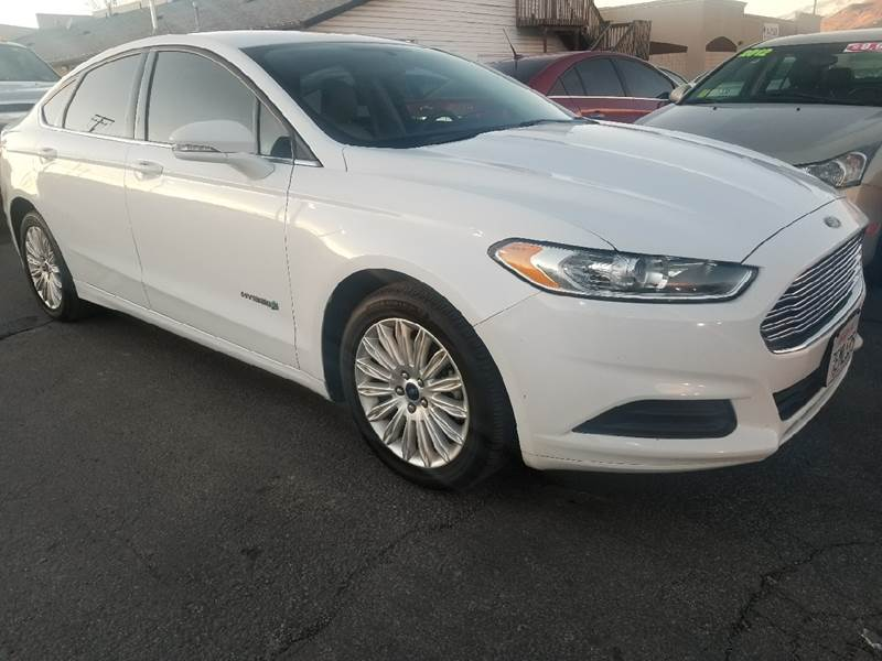 2014 ford fusion hybrid se in lindon ut - planet auto sales