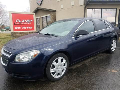 2011 Chevrolet Malibu for sale at PLANET AUTO SALES in Lindon UT