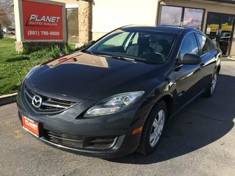 2012 Mazda MAZDA6 for sale at PLANET AUTO SALES in Lindon UT