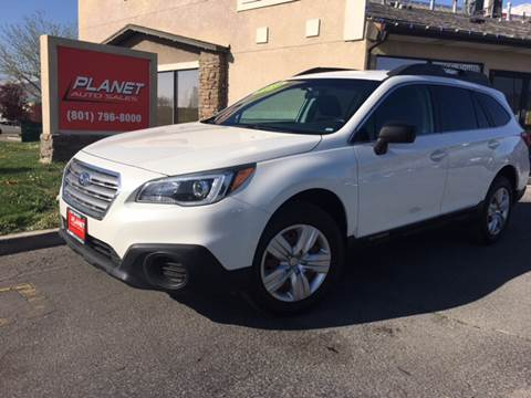 2016 Subaru Outback for sale at PLANET AUTO SALES in Lindon UT