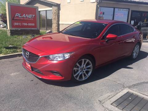 2014 Mazda MAZDA6 for sale at PLANET AUTO SALES in Lindon UT