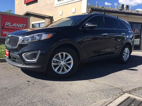 2016 Kia Sorento for sale at PLANET AUTO SALES in Lindon UT