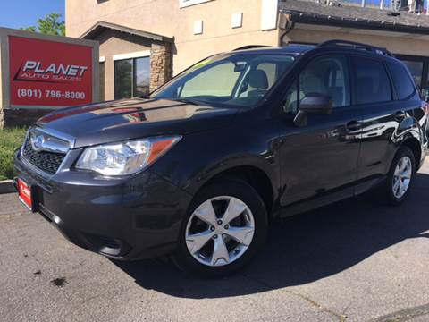 2015 Subaru Forester for sale at PLANET AUTO SALES in Lindon UT