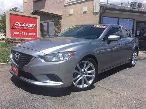 2015 Mazda MAZDA6 for sale at PLANET AUTO SALES in Lindon UT