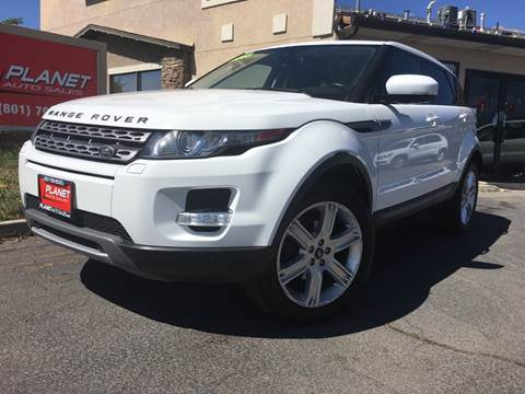 2013 Land Rover Range Rover Evoque for sale at PLANET AUTO SALES in Lindon UT