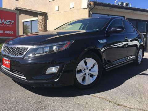 2015 Kia Optima Hybrid for sale at PLANET AUTO SALES in Lindon UT