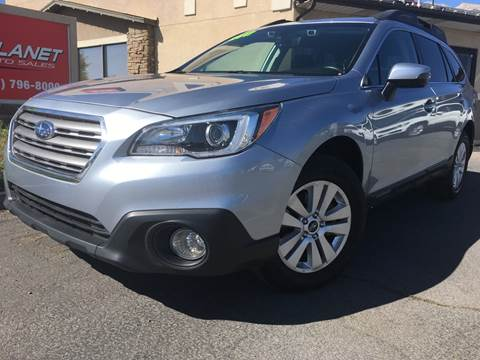 2017 Subaru Outback for sale at PLANET AUTO SALES in Lindon UT