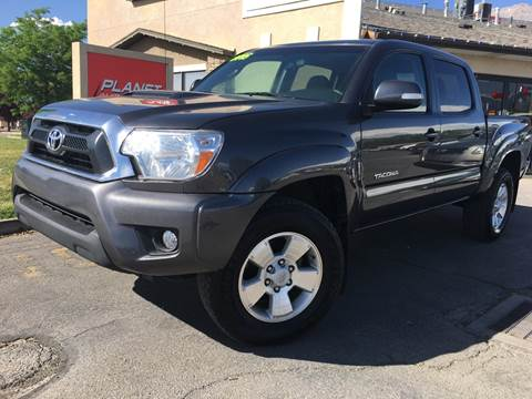 2015 Toyota Tacoma for sale at PLANET AUTO SALES in Lindon UT