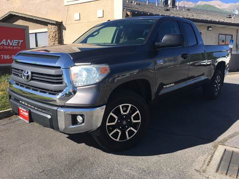 2014 Toyota Tundra for sale at PLANET AUTO SALES in Lindon UT