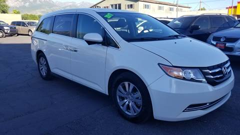 2017 Honda Odyssey for sale at PLANET AUTO SALES in Lindon UT