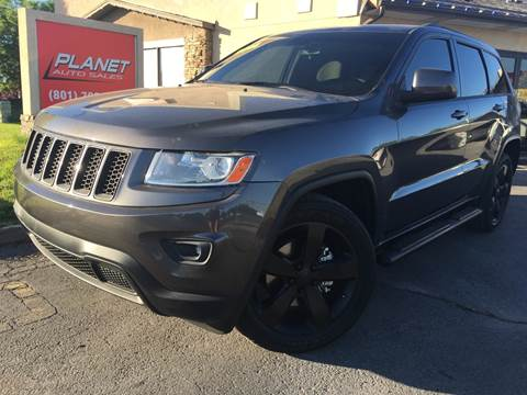 2014 Jeep Grand Cherokee for sale at PLANET AUTO SALES in Lindon UT