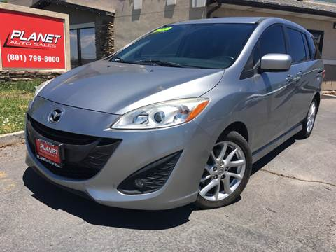 2012 Mazda MAZDA5 for sale at PLANET AUTO SALES in Lindon UT
