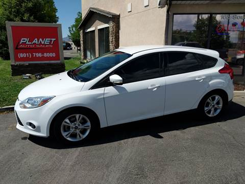 2014 Ford Focus for sale at PLANET AUTO SALES in Lindon UT