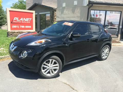 2015 Nissan JUKE for sale at PLANET AUTO SALES in Lindon UT