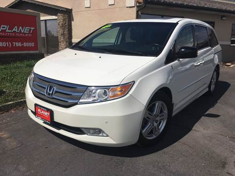 2012 Honda Odyssey for sale at PLANET AUTO SALES in Lindon UT