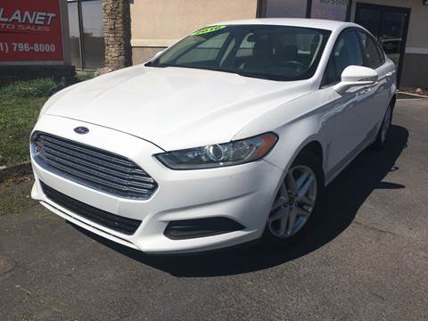 2016 Ford Fusion for sale at PLANET AUTO SALES in Lindon UT