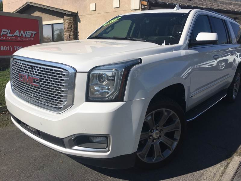 2016 GMC Yukon XL for sale at PLANET AUTO SALES in Lindon UT