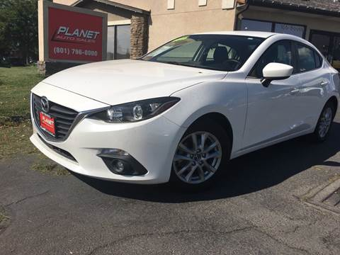 2015 Mazda MAZDA3 for sale at PLANET AUTO SALES in Lindon UT
