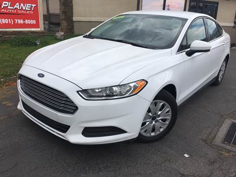 2014 Ford Fusion for sale at PLANET AUTO SALES in Lindon UT