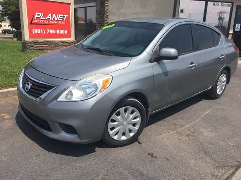 2013 Nissan Versa for sale at PLANET AUTO SALES in Lindon UT