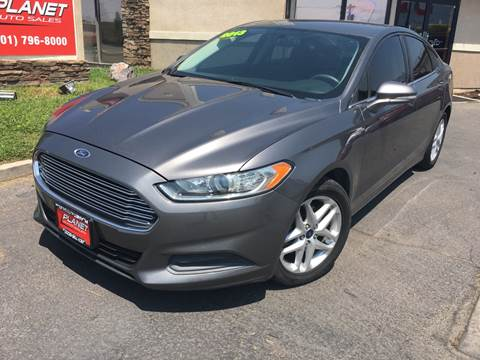 2013 Ford Fusion for sale at PLANET AUTO SALES in Lindon UT