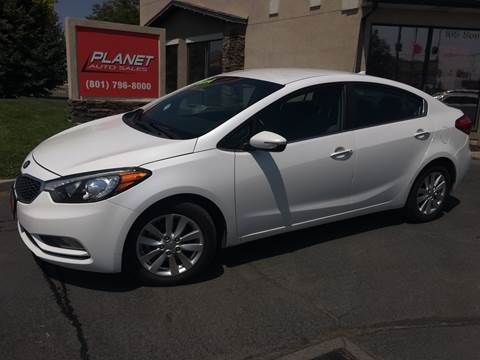 2014 Kia Forte for sale at PLANET AUTO SALES in Lindon UT
