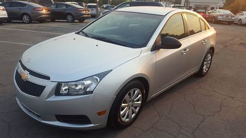 2011 Chevrolet Cruze for sale at PLANET AUTO SALES in Lindon UT