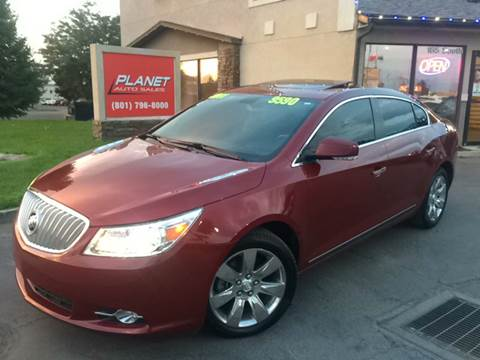 2011 Buick LaCrosse for sale at PLANET AUTO SALES in Lindon UT