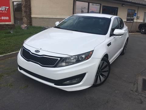 2012 Kia Optima for sale at PLANET AUTO SALES in Lindon UT