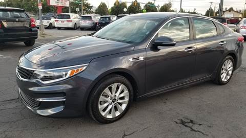 2017 Kia Optima for sale at PLANET AUTO SALES in Lindon UT