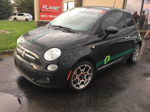 2012 FIAT 500 for sale at PLANET AUTO SALES in Lindon UT